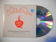 LE SOLDAT ROSE 2 : UN JOUR QUELQU'UN VOUS EMBRASSE ♦ CD SINGLE PORT GRATUIT ♦