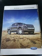 Genuine Ford PX Mk2 Ranger Owners Manual Book Kit Incl. Service Guide