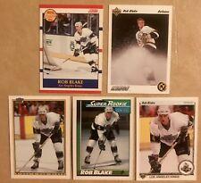 Rob Blake Rookie Lot of (5) 1990-91 Bowman•UD•Score•OPC•HOF RC Kings