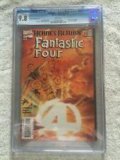 Fantastic Four #v3 #1 Marvel Jan 1998 CGC 9.8 white pgs variant free bonus books