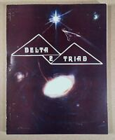 DELTA TRIAD #2 Fanzine Anthology, Star Trek TOS GEN/HET, Apr 1976 First Printing