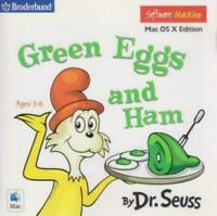 Dr. Seuss' Green Eggs And Ham Mac OS X Edition CD animated story game! Ages 3-8