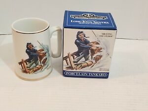 Norman Rockwell's Sea Farers Collection Mug Braving The Storm Long John Silvers