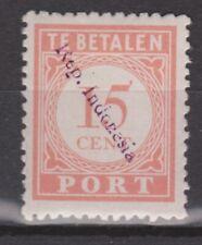 Sumatra Port 7b OVERPRINT 211v MLH Japanese occupation Japanse bezetting