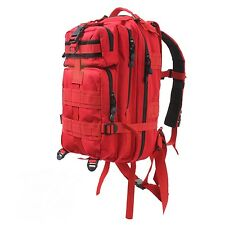 MEDIUM TRANSPORT PACK BY ROTHCO TACTICAL EMS EMT IN RED NIP