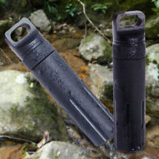 Outdoor Waterproof Medicine Pill Bottle Holder Box Container Survival Camping