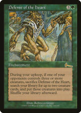 MTG X1: Defense of the Heart, Urza's Legacy, R, LP - FREE US SHIPPING!