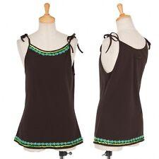 (SALE) Jean Paul GAULTIER FEMME shoulder strap camisole Size 40(K-16447)