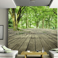 3DWallpaper Wall Mural Welcoming pine Tree Seamless Background Forest Wall Decal