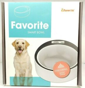 New Favorite Slow Feed Anti-Scoff Dog Smart Bowl Digital Scale Pet Feeder
