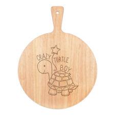 Crazy Turtle Boy Pizza Board Paddel Holz Tier Sohn Kinder lustig