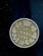 1890 Canada 10 Cents G DCD549