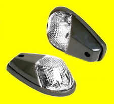 Verkleidungsblinker LED schwarz Blinker Verkleidung Daytona E-geprüft ATV Quad