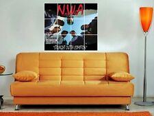 "N.W.A. - STRAIGHT OUTTA COMPTON 36""X32"" INCH MOSAIC WALL POSTER HIP HOP RAP NWA"