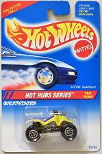 HOT WHEELS 1994 SUZUKI QUADRACER HOT HUBS SERIES YELLOW