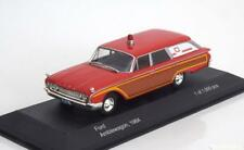 FORD AMBLEWAGON 1964 RED WHITEBOX WB181 1/43 ROSSO ROT ROUGE BREAK AMBULANCE