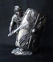 Roman Legionary XIX Legion Tin Toy soldier 54 mm., figurine, metal sculpture.