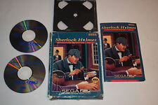 Sherlock Holmes Consulting Detective Vol. II Sega CD Video Game Complete