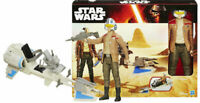 Star Wars The Force Awakens Poe Dameron Speeder Bike Figure Playset Gift Hasbro