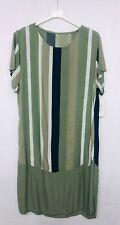 Women Short Sleeve One Size Midi Dress Beach Holiday Lagenlook Summer Dress