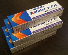 5x45g KAFUTER 705 TRANSPARENT ISOLATED SOLDERING GLUE SEALANT FOR STRIP LIGHT