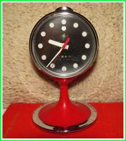 Vintage Mechanical Alarm Clock Diamond China Shanghai Rare 1980 #242211