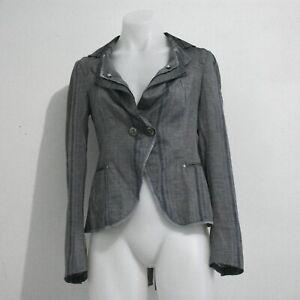 High Use Grey Striped Blazer Size 8