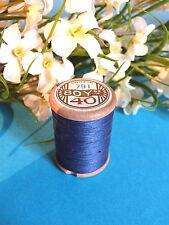 764B / Belle Coil Old DMC Thread Cotton Alsa N°40 Blue Purplish #791