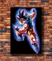 Art Japan Anime Goku Z Super Ultra Instinct -20x30 24x36in Poster Hot Gift C1361