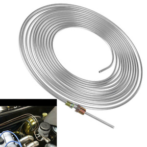 Copper Nickel Brake Line Tubing Kit 3/16in OD 25Ft Coil Roll All Size Fittings