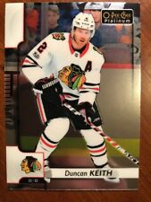 17-18 UD Opee Chee Platinum #88 Duncan Keith