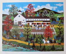 Jane Wooster Scott QUEEN OF THE TRAIL Hand Signed Limited Edition Lithograph