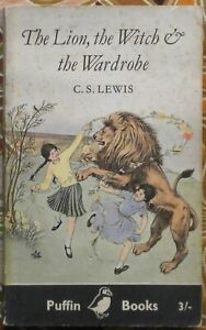 The Lion, The Witch & The Wardrobe by C. S. Lewis, 1959 - First Puffin Books Ed.
