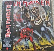 Iron Maiden - Number of the Beast Picture Vinyl 2012 incl. OBI 180 Gramm NEU