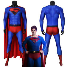 Superman Costume Cosplay Suit Crisis on Infinite Earths 3D Printed Outfit