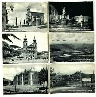 Gorizia Italy Black & White Lot of 6 Unposted Postcards 5.5 x 3.5 Inches