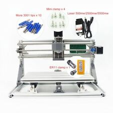 Diy Mini 3018 Cnc Machine Wood Milling Router Optional 500 5500mw Laser Module