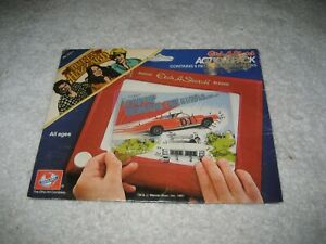 Vintage DUKES OF HAZZARD, ETCH-A-SKETCH Action Pack 1981,General Lee