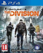 TOM CLANCY'S LA DIVISIONE PS4 ottime condizioni 1st CLASSE RAPIDO E GRATUITO consegna