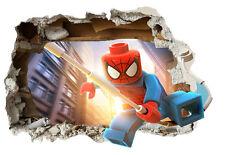 Pegatina vinilo impreso decoracion pared,niño,niña,spiderman ,Tamaño A4