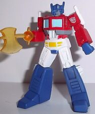 TRANSFORMERS heroes of Cybertron OPTIMUS PRIME w axe ax complete PVC scf act hoc