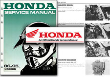 Honda XR250R Service Manual XR 250 R XR250 1986 to 1995 Factory Shop Workshop