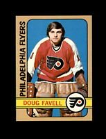 1972-73 Topps Hockey #74 Doug Favell (Flyers) NM+