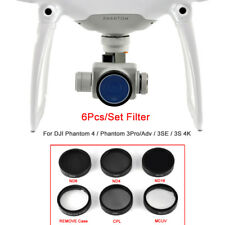 Filter Kits 6 pcs MCUV CPL ND4/8/16+Remove Case For DJI Phantom 4/3 Pro SE Drone
