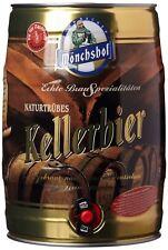 Bier Mönchshof Kellerbier 4 x 5 l Fass Partyfass