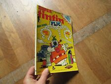 PETIT FORMAT JOURNAL BD TINTIN SUPER 12 flic rock derby ric hochet chick bill