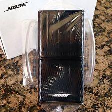 Bose Jewel Double Cube Premium Speaker Black. Near Mint.