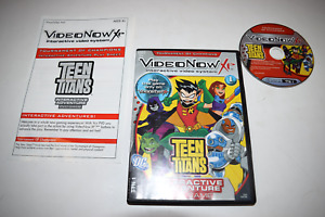Teen Titans Tournament Champions VideoNow XP Interactive PVD Video Game Complete