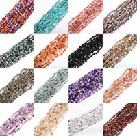 A+ Top 100Pcs Mixed Semi Precious Natural Irregular Gemstone Tumble Chip Beads