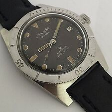 RARE  AQUASTAR  DIVER AUTOMATIC 200M / 600 FT TROPICAL DIAL  MENS SIZE REF 1701